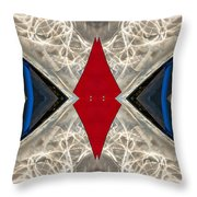 Abstract Photomontage N41p4f175 Dsc7221 Throw Pillow