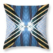 Abstract Photomontage N87v1 Dsc9063 Throw Pillow