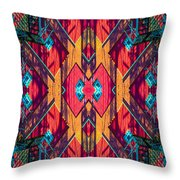 Abstract Photomontage No 5 Throw Pillow