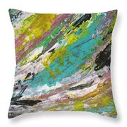 Abstract Piano 1 Throw Pillow