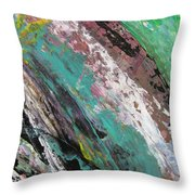 Abstract Piano 2 Throw Pillow