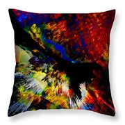Abstract Pm Throw Pillow