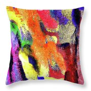 Abstract Poster Throw Pillow