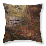 Abstract Reflections Throw Pillow
