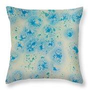 Abstract Resin Splatter Throw Pillow
