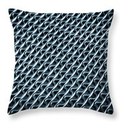 Abstract Rubber And Iron Mat Throw Pillow