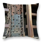 Abstract Rust 1 Throw Pillow