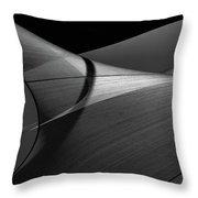 Abstract Sailcloth 200 Throw Pillow by Bob Orsillo