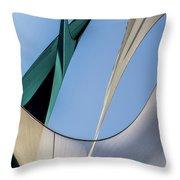 Abstract Sailcloth Ycc103 Throw Pillow