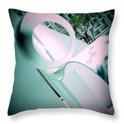 Abstract Sculpture 2 Throw Pillow