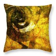Abstract Sculpture  Throw Pillow