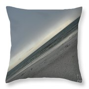 Abstract Sea Throw Pillow