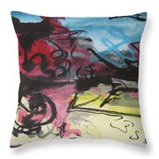 Abstract Sketch18 Throw Pillow