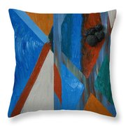 Abstract Space Throw Pillow