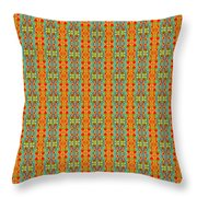 Abstract Square 56 Throw Pillow