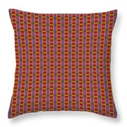 Abstract Square 16 Throw Pillow