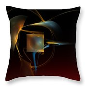 Abstract Still Life 012211 Throw Pillow