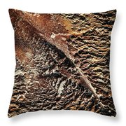 Abstract Surface Bumpy Stone Throw Pillow