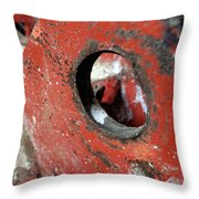 Abstract Textures Throw Pillow