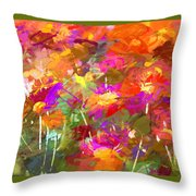 Abstract Thought Processes Throw Pillow