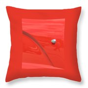 Abstract Thunder Throw Pillow