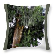 Abstract Tree 8 Throw Pillow
