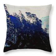 Abstract Trees 8 Throw Pillow