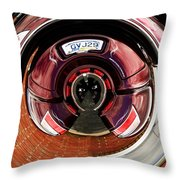 Abstract Trike Throw Pillow