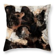 Abstract Universe Planet 5 Throw Pillow