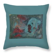 Abstract V Wr Throw Pillow