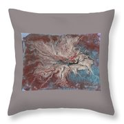 Abstract Vi Wr Throw Pillow