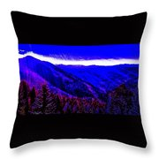 Abstract Views Throw Pillow