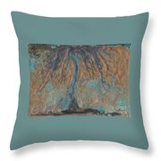 Abstract Vii Wr Throw Pillow