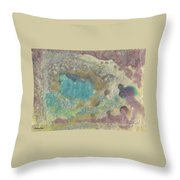 Abstract Viii Wr Throw Pillow