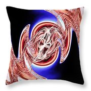 Abstract Visuals - The Song Inside My Head Throw Pillow