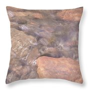 Abstract Water Art I Throw Pillow
