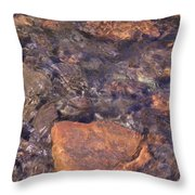 Abstract Water Art Iv Throw Pillow