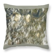 Abstract Water Art V Throw Pillow