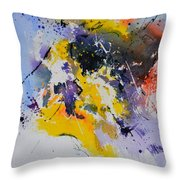 Abstract Watercolor 70075 Throw Pillow