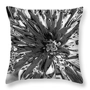 Abstract Wildflower 10 Throw Pillow