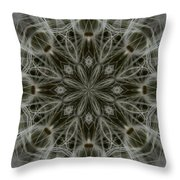 Abstract Wildflower 11 Throw Pillow