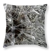 Abstract Wildflower 7 Throw Pillow