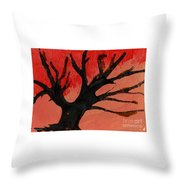 Abstract X Wr Throw Pillow