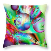 Abstract051710b Throw Pillow