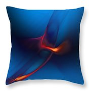 Abstract082010 Throw Pillow