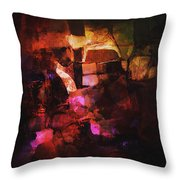 Abstract62 Throw Pillow