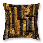 Abstracta 26 Nexs  Throw Pillow