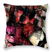 Abstracta_21 Stratavari Moderna Throw Pillow
