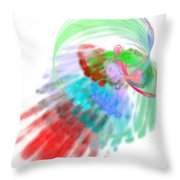 Abstractedness - 3 Throw Pillow