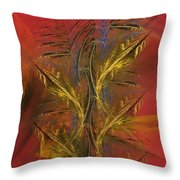Abstraction 072011 Throw Pillow